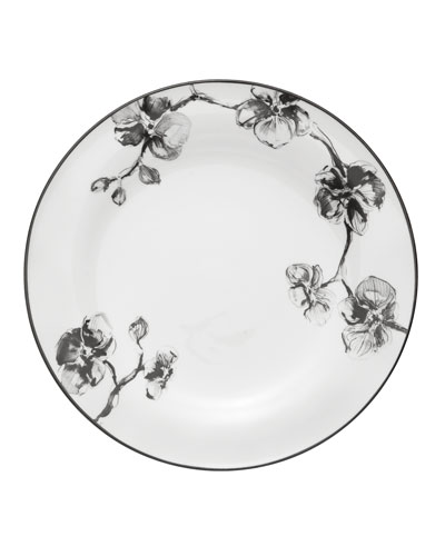 Black Orchid Dinner Plate
