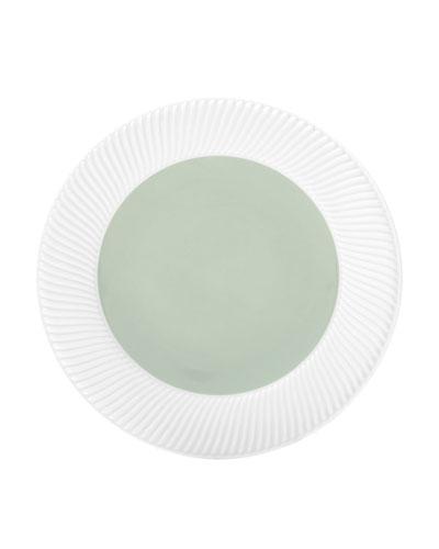 Twist Salad Plate, Sage