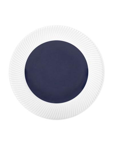 Twist Salad Plate, Midnight