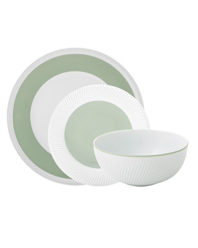 Twist 3-Piece Place Setting  Sage