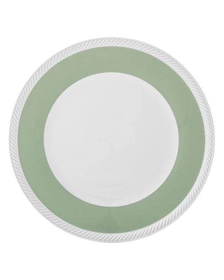 Twist Dinner Plate, Sage