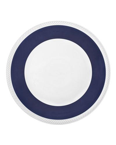 Twist Dinner Plate, Midnight