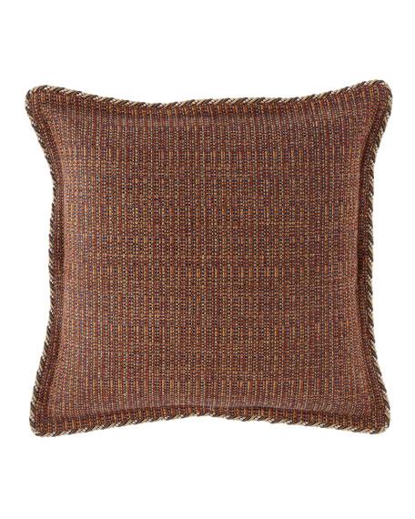 Mehndi Tweed European Sham