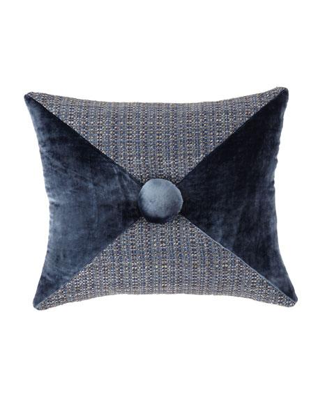 Mehndi Pieced Oblong Pillow