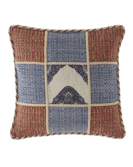 Mehndi Patchwork Boutique Pillow