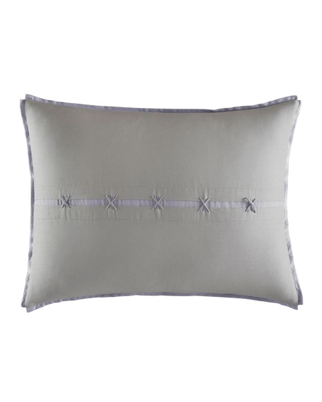 Center Slot Decorative Pillow