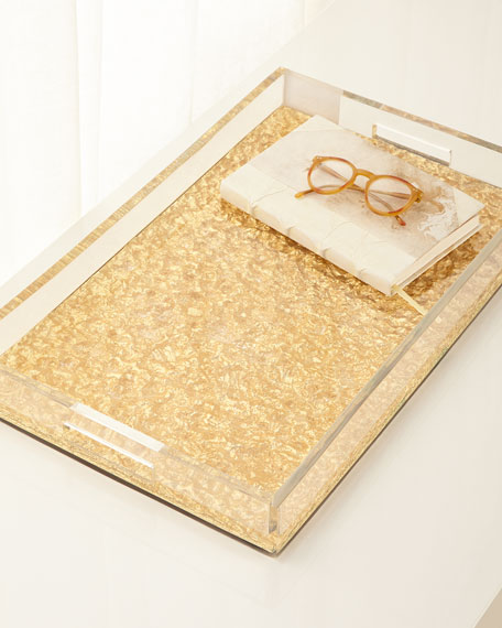 Gold Foil Cement Tray