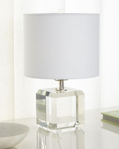 Square Crystal Accent Lamp