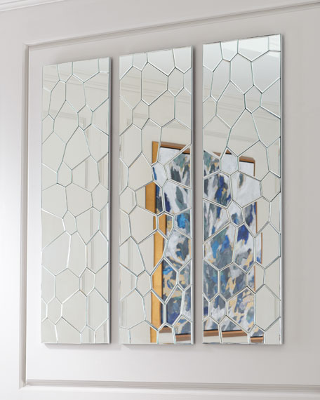 Webbed Mirror Panel