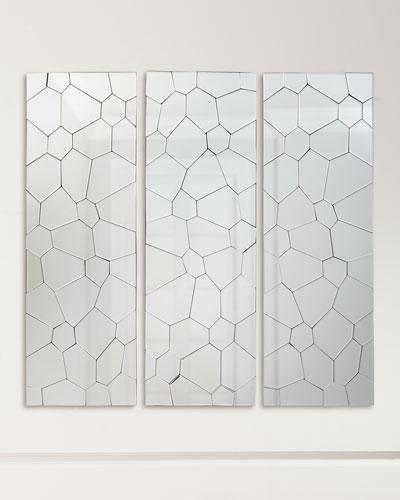 Webbed Mirror Panel