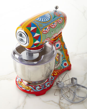Dolce Gabbana x SMEG Sicily Is My Love Stand Mixer