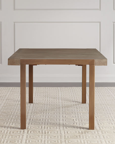 Wyatt Rectangle Dining Table with Leaves