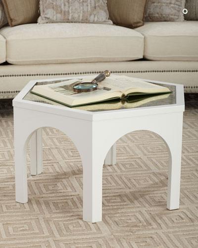 Kiera Mirror Top Coffee Table