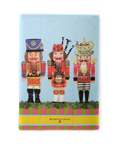 MacKenzie-Childs Nutcracker Dish Towel
