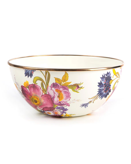 MacKenzie-Childs Flower Market Small Everyday Bowl