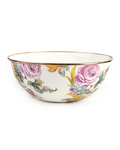 MacKenzie-Childs Flower Market Medium Everyday Bowl