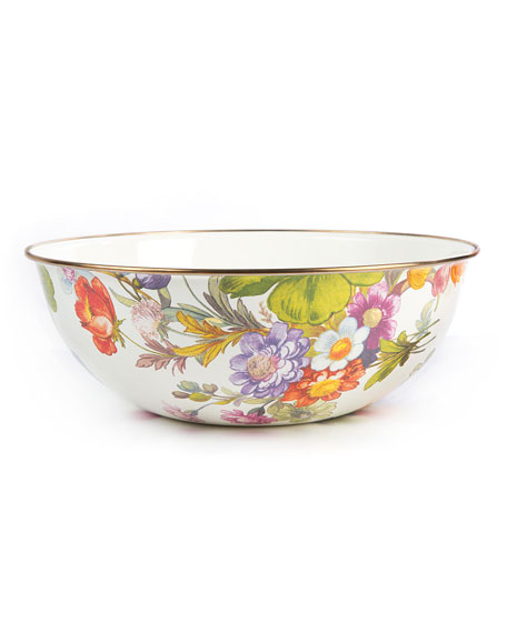 MacKenzie-Childs Flower Market Extra Large Everyday Bowl