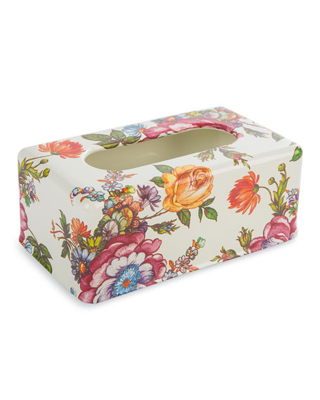 Flower Market Standard Tissue Box Holder