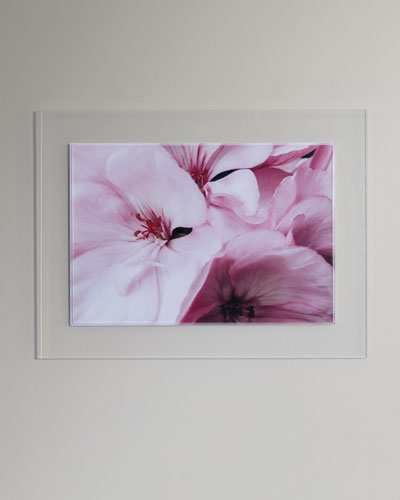 Pink Blossom Photography Print Framed Handmade Art