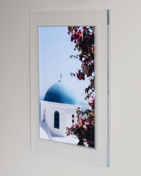 """Greece"" Photography Print Framed Art"