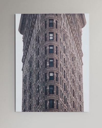 Flatiron Photography Print Handmade HD Metal & Acrylic Photo Art