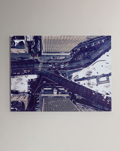 Downtown Photography Print Handmade HD Metal & Acrylic Art