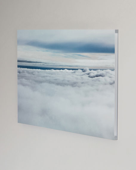 """In the Clouds"" Photography Print Handmade HD Metal & Acrylic Art"