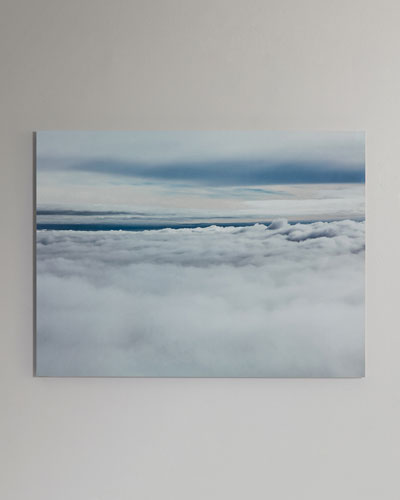 In the Clouds Photography Print Handmade HD Metal & Acrylic Art