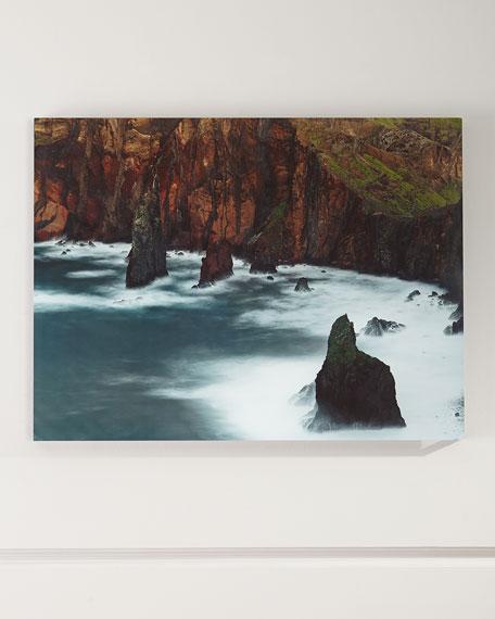 """At the Cliffs"" Photography Print Handmade Art"