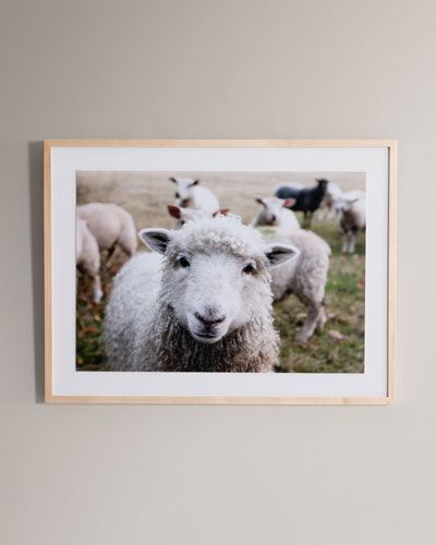 Hi There Photography Print Framed Handmade  Art