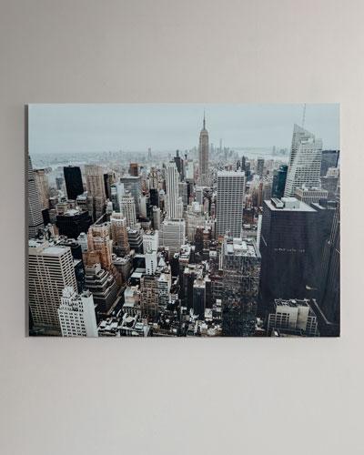 The Big Apple Photography Print Handmade HD Metal & Acrylic Art
