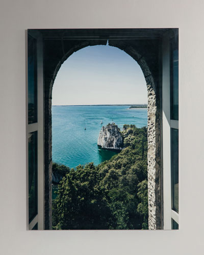 Through the Window Photography Print Handmade HD Metal & Acrylic Art