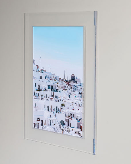 """Whitewash"" Photography Print Framed Art"