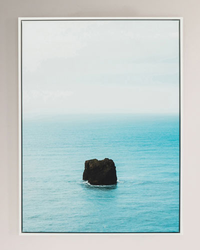 Alone Photography Print on Canvas Framed Wall Art