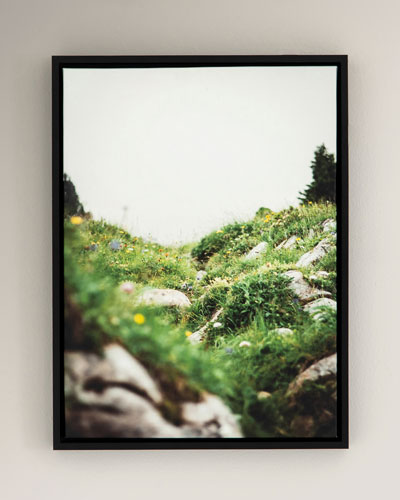 Spring Photography Print on Canvas Framed Wall Art