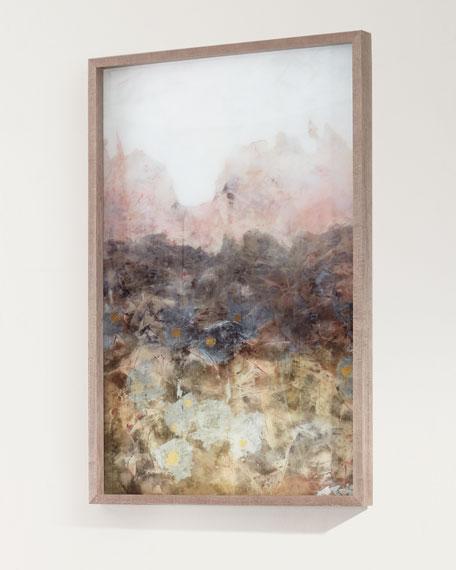"""""""Smokey Erosion II"""" Framed Giclee Art"""