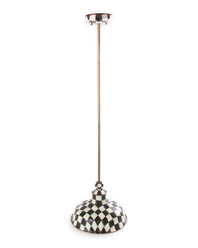 Courtly Check Barn Pendant Lamp, 12