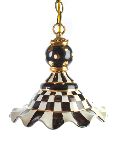 Courtly Check Medium Pendant