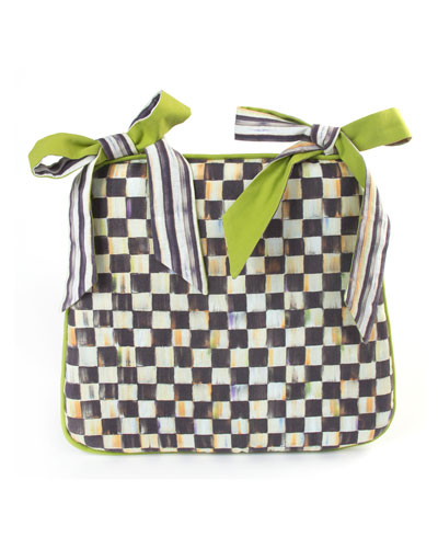 Courtly Check Seat Cushion