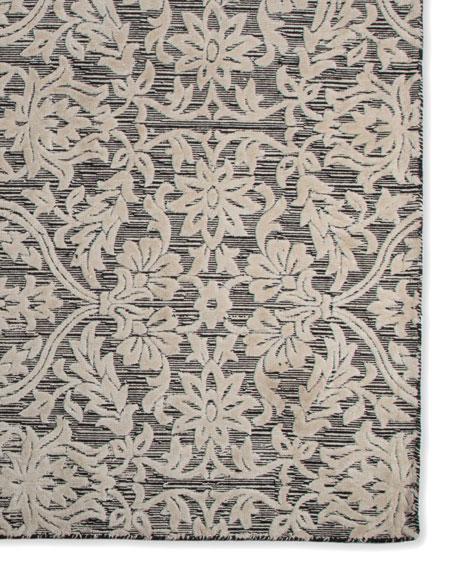 Ivory Scroll Rug, 8' x 10'