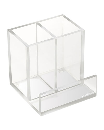 Clear Acrylic Pencil Bloc Organizer