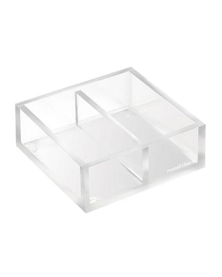 Acrylic Twin Desk Organizer Bloc