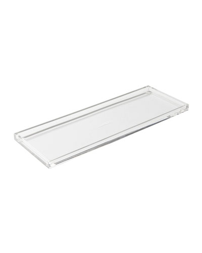 Acrylic Bloc Desk Tray