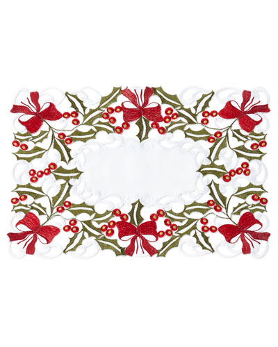 Holly Placemats  Set of 4