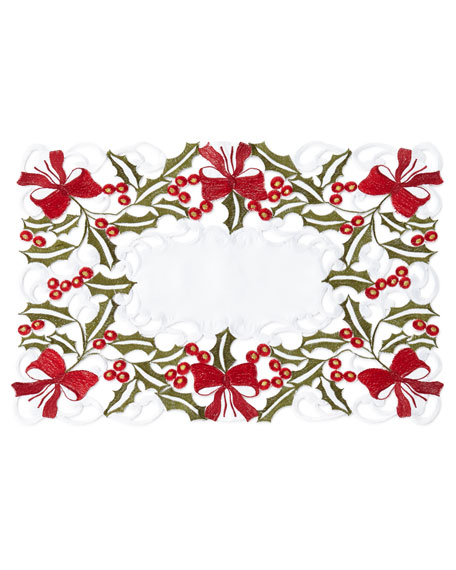 Holly Placemats, Set of 4
