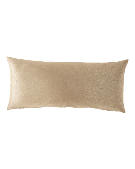 Gecko Gold Oblong Pillow