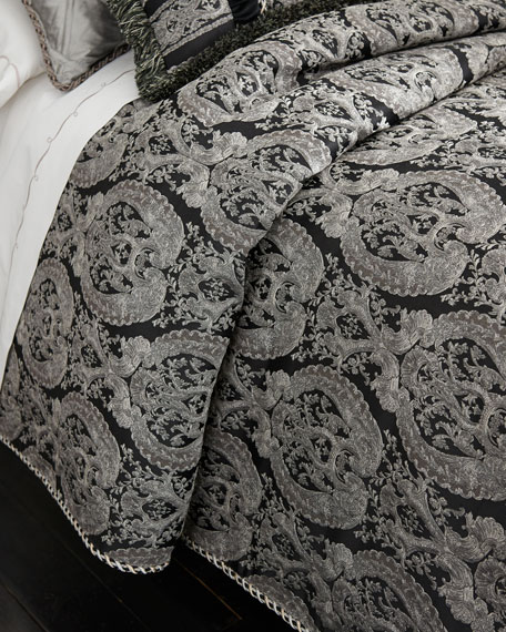 Bianca King Damask Duvet