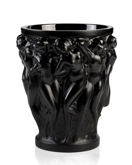 Bacchantes Crystal Vase