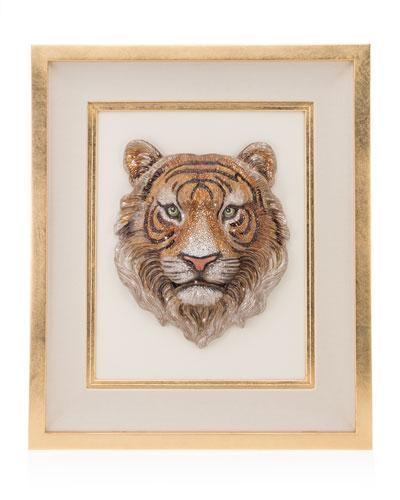 Tiger Head Wall Art