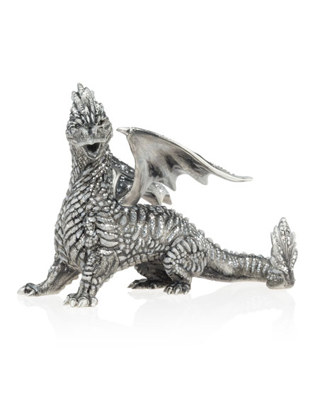 Jay Strongwater Regal Dragon Figurine